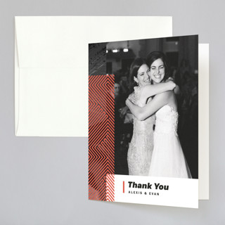 Alexis Folded Thank You Card
