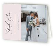 Pinecrest Foil-Pressed Folded Thank You Card