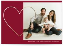 Heart of Gold Foil-Pressed Valentine Cards