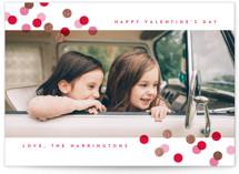 Toss Foil-Pressed Valentine Cards