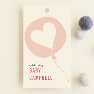 Party at my crib Baby Shower Favor Tags