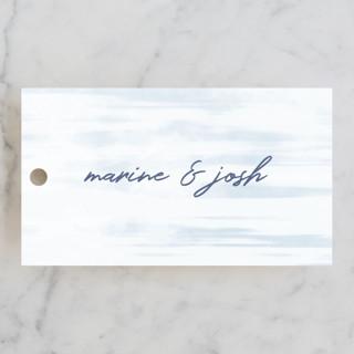 Marine Wedding Favor Tags