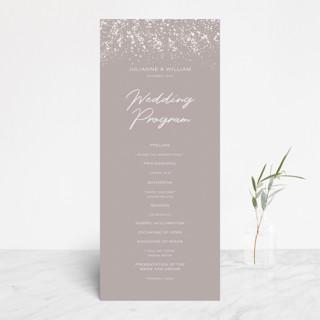 Paint Splash Gloss-Press™ Wedding Programs