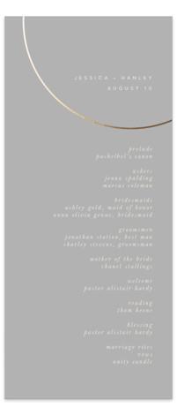 lili Foil-Pressed Wedding Programs