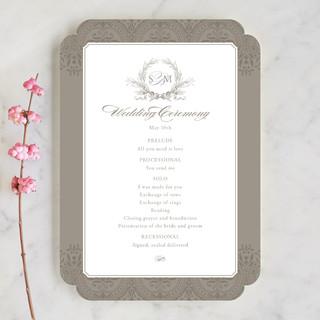 Formalities Wedding Programs