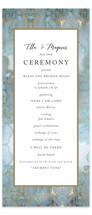 Something Blue Wedding Programs