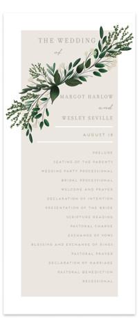Watermark Wedding Programs