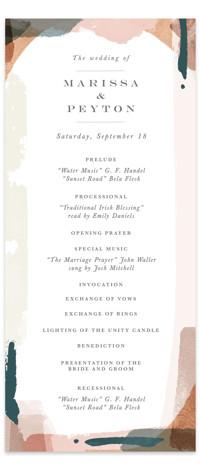 Overlapping Wedding Programs
