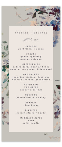 goddess Wedding Programs