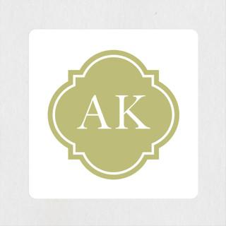 Sloane Wedding Favor Stickers
