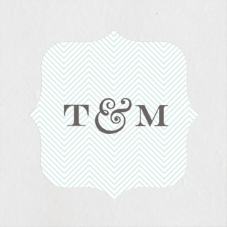 Charming Go Lightly Wedding Favor Stickers