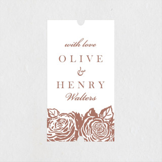 House of York Wedding Favor Stickers