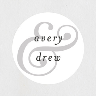 Classic Ampersand Wedding Favor Stickers