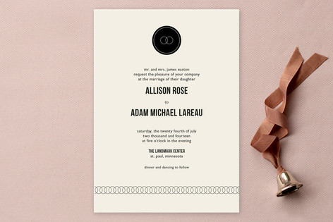 Eternity Print-It-Yourself Wedding Invitations