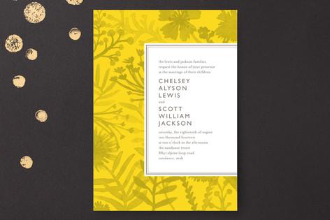 Sundance Wildflowers Print-It-Yourself Wedding Invitations