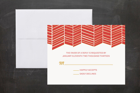 Chute Print-It-Yourself RSVP Cards