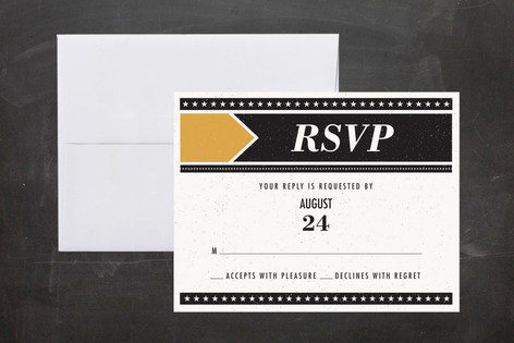 Poster Gig Print-It-Yourself RSVP Cards