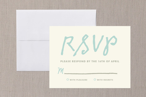You+Me Print-It-Yourself RSVP Cards