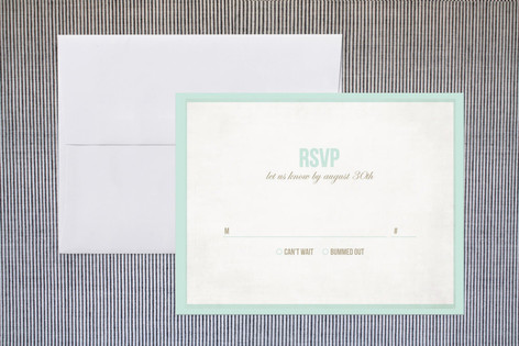 Beach Bums Print-It-Yourself RSVP Cards