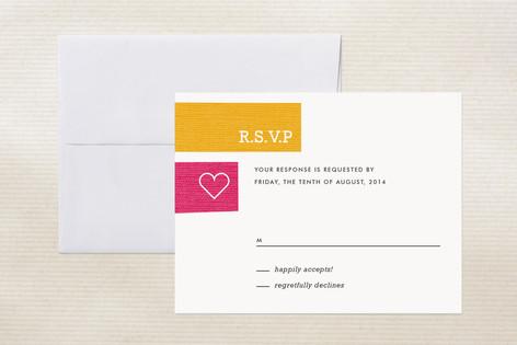 Jet Set Print-It-Yourself RSVP Cards