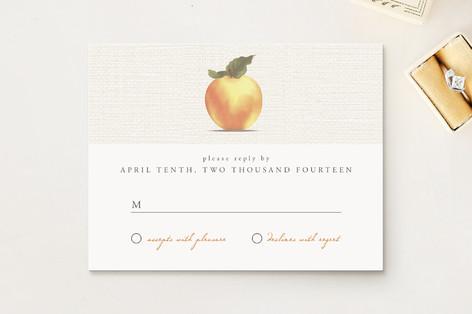 Apple Harvest Print-It-Yourself RSVP Cards