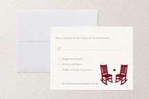 Print-It-Yourself Wedding RSVP Cards