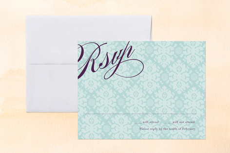 The Gramercy Print-It-Yourself RSVP Cards